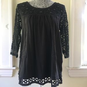 Anthropologie black top